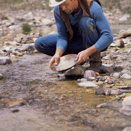 Gold Panning in California